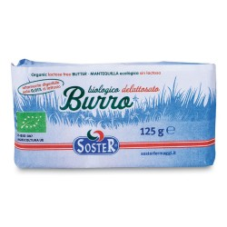 MANTEQUILLA  SIN LACTOSA 125G ECO SOSTER