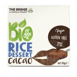 POSTRE ARROZ CHOCO 4X110G ECO THE BRIDGE