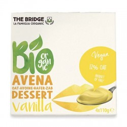 POSTRE AVENA VAINILLA 4X110G ECO THE BRIDGE