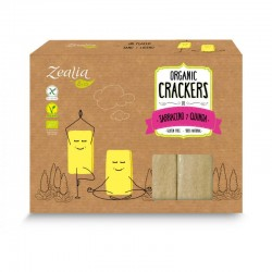 CRACKERS SARRACENO QUINOA S/G  ECO ZEALIA