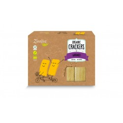 CRACKERS GARBANZO S/G  ECO ZEALIA