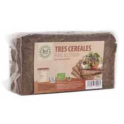 PAN ALEMAN TRES CEREALES 500G ECO SOLNATURAL