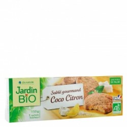 GALLETA COCO Y LIMON 150G ECO JARDIN BIO