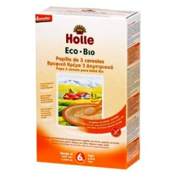 PAPILLA 3 CEREALES SIN GLUTEN 250G ECO HOLLE