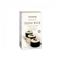 ARROZ PARA SUSHI 500G ECO CLEARSPRING